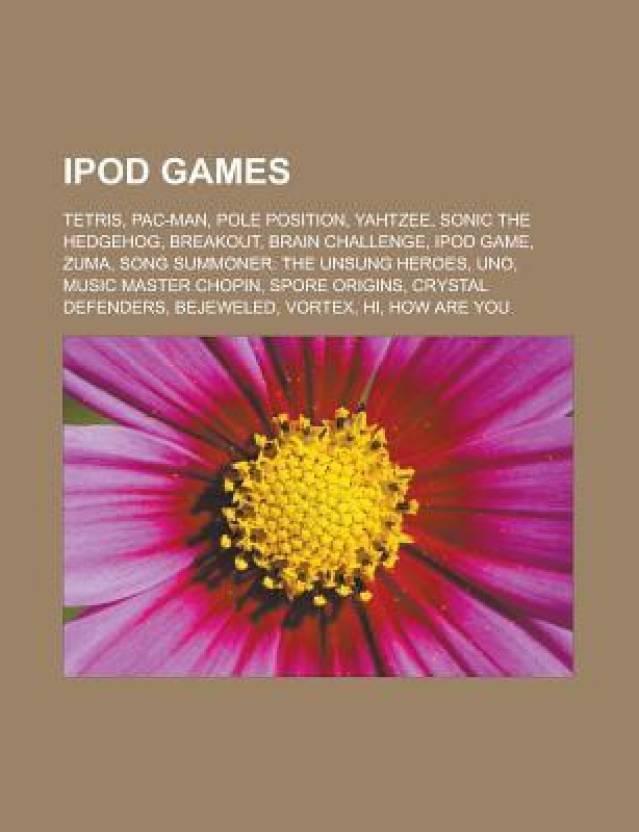 Ipod Games Tetris Pac Man Pole Position Yahtzee Sonic