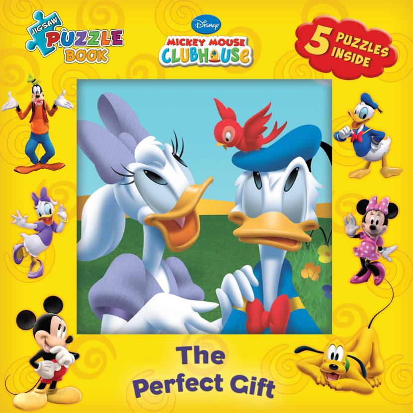 Jigsaw Puzzle Book: The Perfect Gift by DISNEY-English-The Walt Disney-Hardcover