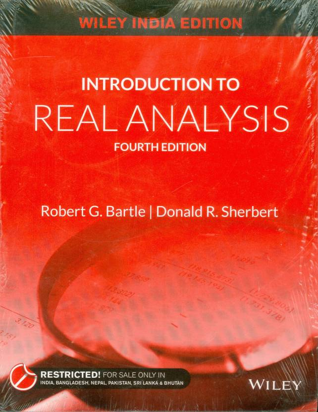 Introduction to real analysis 4 edition buy introduction to real introduction to real analysis 4 edition fandeluxe Choice Image