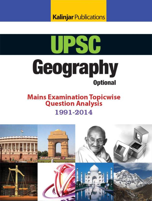 UPSC Geography Optional Mains Examination Topicwise Question Analysis 1991 2014 English, Paperback, Kalinjar Publications  9789351720812 available at Flipkart for Rs.149