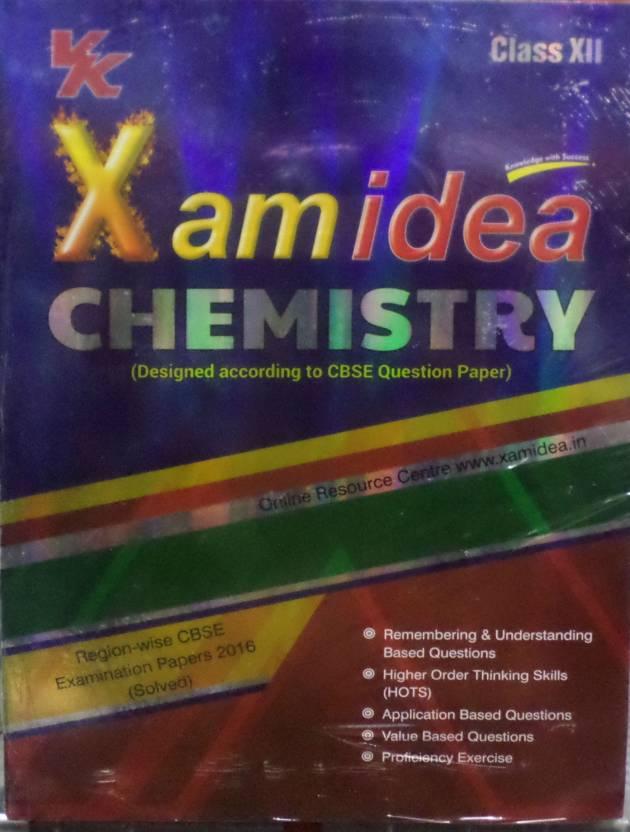 Xamidea Chemistry for Class - 12 (With CD)