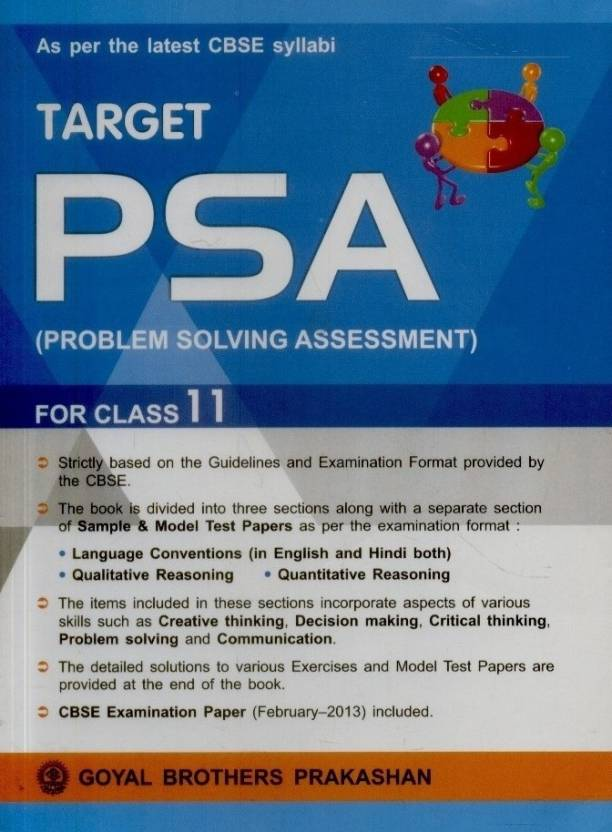 Target PSA (Problem Solving Assessment) 2nd  Edition