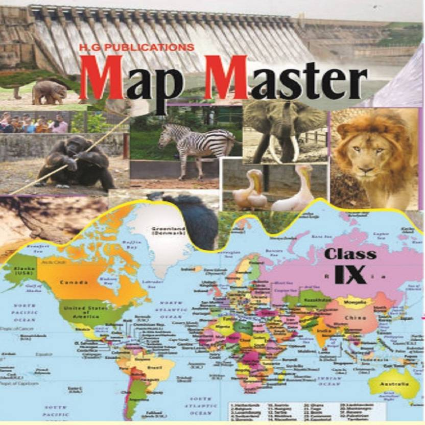 9th Class Map Master: Buy 9th Class Map Master by Dr  S K