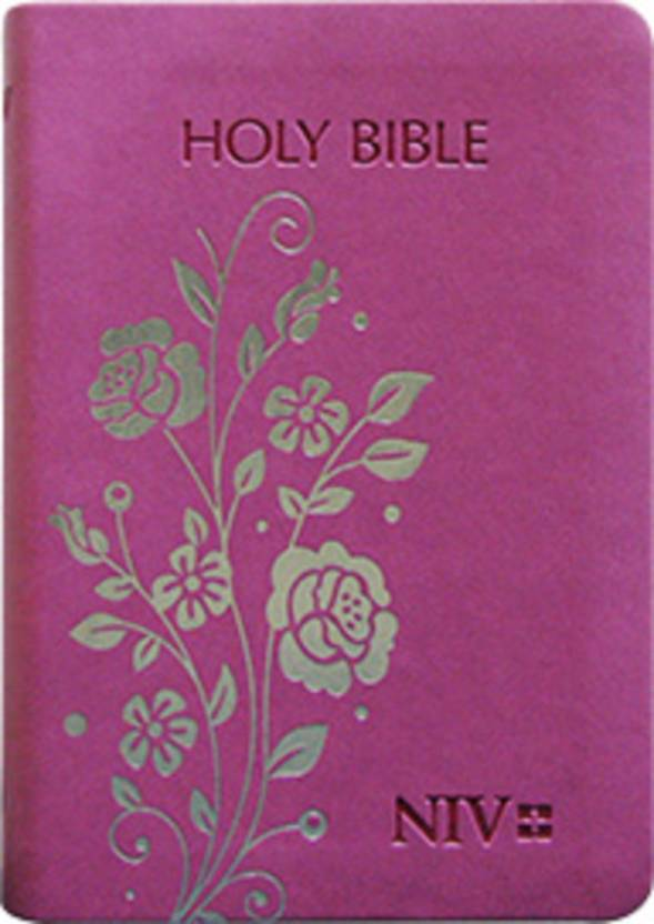 NIV Holy Bible Compact, Purple (PU)