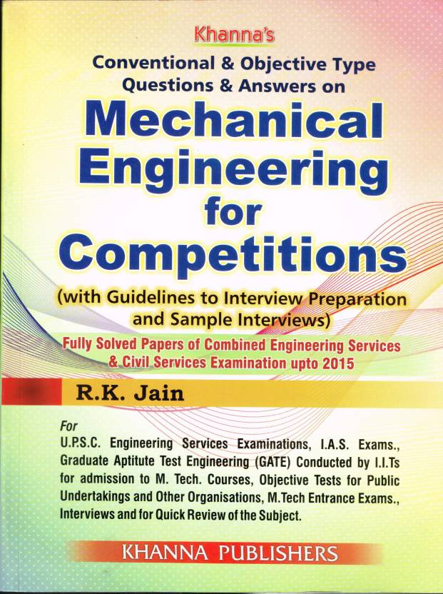 Conventional Objective Type Questions Answers On Mechanical
