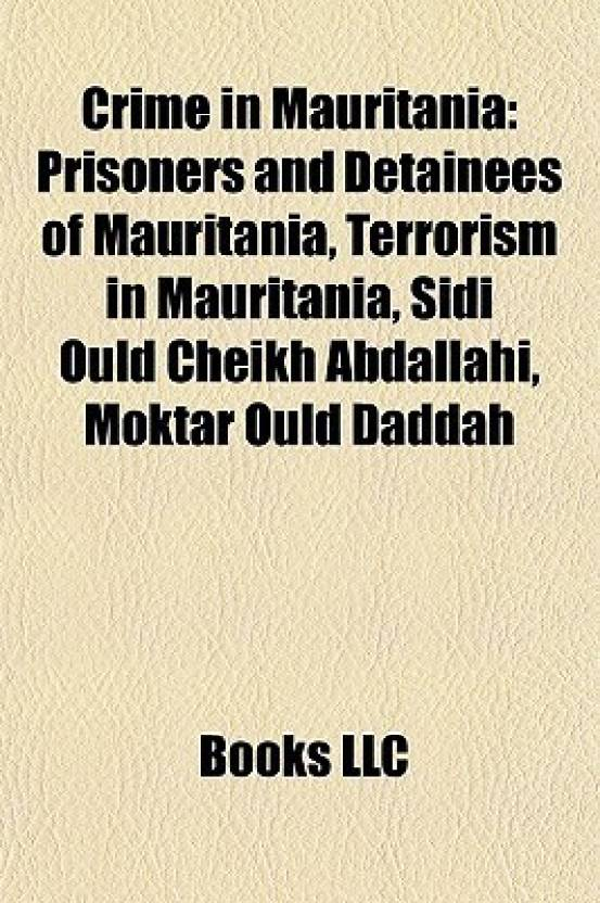 Crime in Mauritania: Prisoners and Detainees of Mauritania