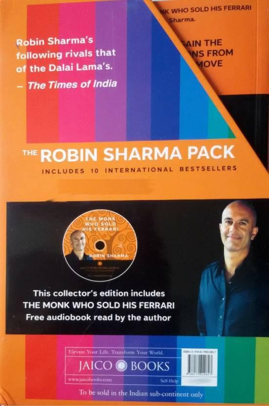The Robin Sharma Pack (Set Of 10 Volumes) price comparison at Flipkart, Amazon, Crossword, Uread, Bookadda, Landmark, Homeshop18