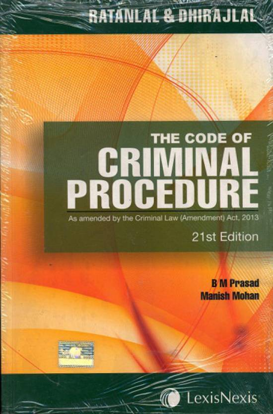 The Code of Criminal Procedure 21st Edition: Buy The Code of