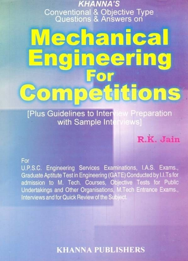 Mechanical engineering for competitions buy mechanical mechanical engineering for competitions buy mechanical engineering for competitions by jain r k online at best prices in india flipkart fandeluxe Image collections