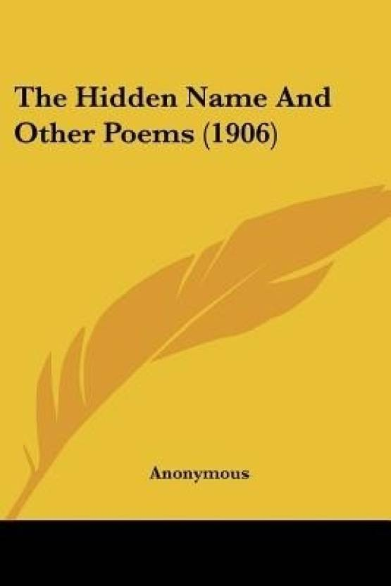 The Hidden Name and Other Poems (1906) - Buy The Hidden Name