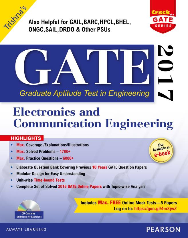 GATE Electronics and Communication Engineering 2017 2017 Edition