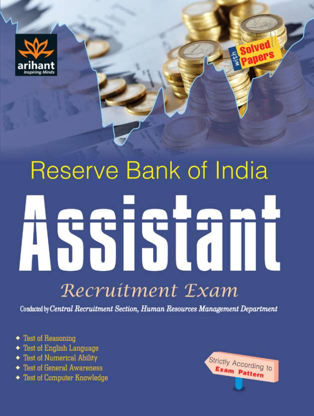 Reserve Bank of India Assistant Recruitment Exam with Solved Papers 4th  Edition