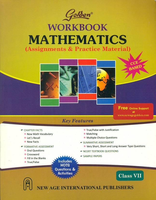 Golden Workbook Mathematics (Assignments & Practice Material) Class