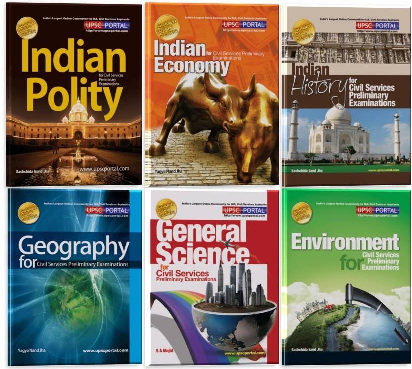 Golden Book Series for CSAT (Set of 6 Books)