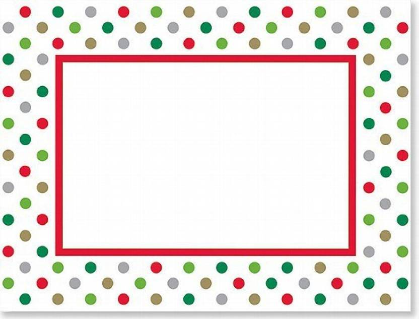 Holidots Photo Frame Cards (Christmas Cards, Holiday Cards, Greeting ...