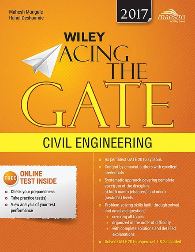Wiley Acing The Gate: Civil Engineering