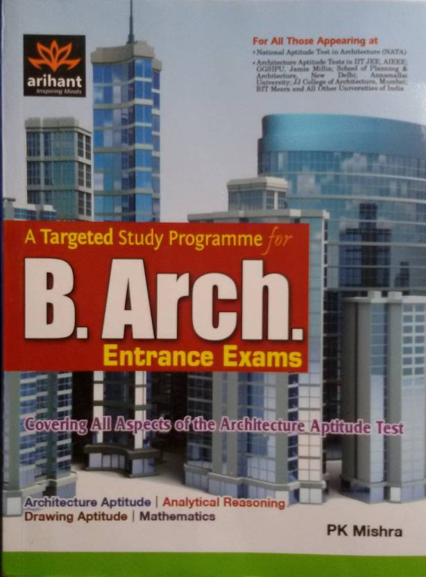 B.Arch Entrance Exams: A Targeted Study Programme 1st  Edition