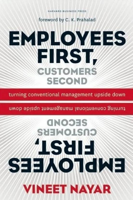 Employee First Customer Second (Paperback)