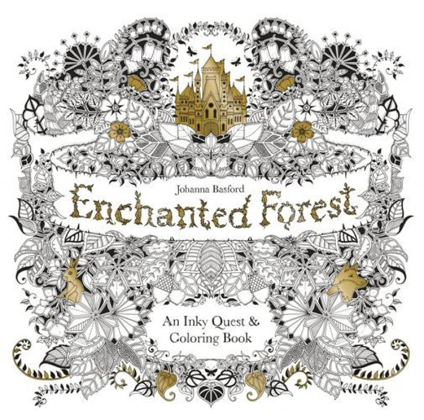 Enchanted Forest Buy By Johanna Basford At Low