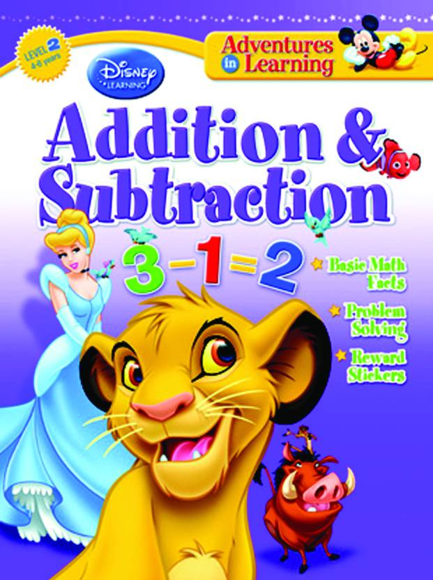 Adventures in Learning: Addition and Subtraction by disney;-English-The Walt Disney-Paperback