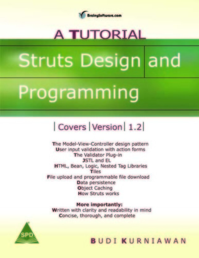 Struts Design And Programming By Budi Kurniawan Pdf