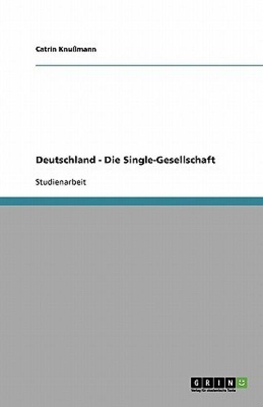 deutschland single gesellschaft