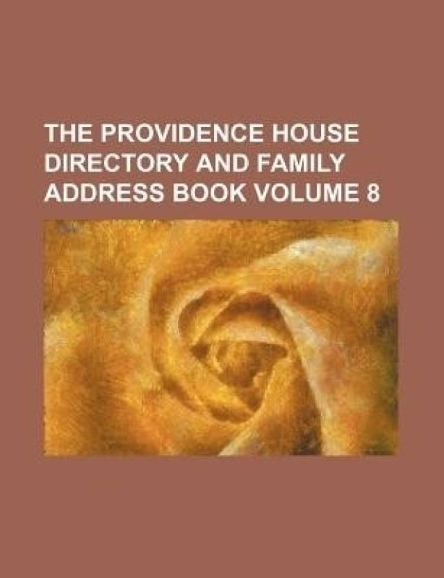 the providence house directory and family address book volume 8 buy