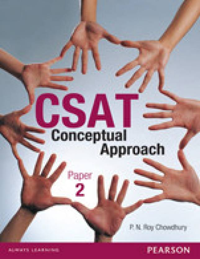 Conceptual Approach to the CSAT (Civil Services Aptitude Test) Paper II 1st Edition