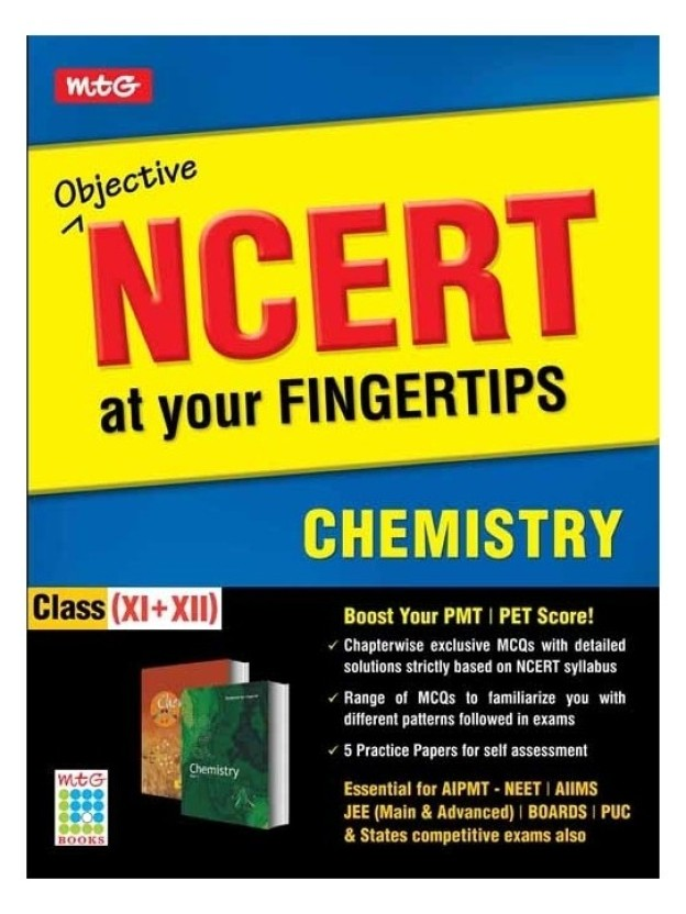 Objective Ncert At Your Fingertips - Chemistry Pdf
