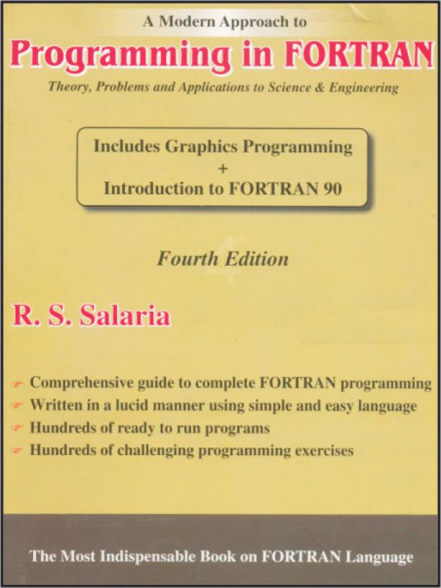 A Modern Approach to Programming in Fortran 4 Edition: Buy A