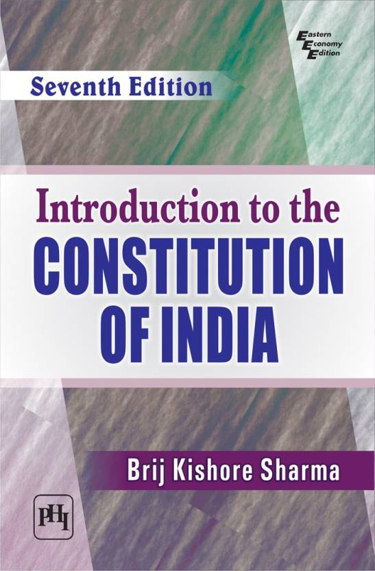 Introduction to the Constitution of India 7th  Edition