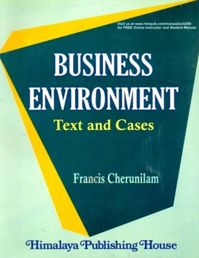 Business Environment: Text and Cases 22nd Edition 22nd Edition: Buy