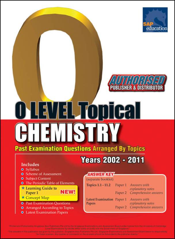 Chemistry o level topical past examination questions arranged by chemistry o level topical past examination questions arranged by topics years 2002 2011 urtaz Gallery