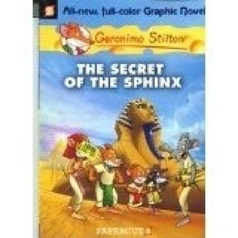 Geronimo Stilton Graphic Novels 2 The Secret Of Sphinx