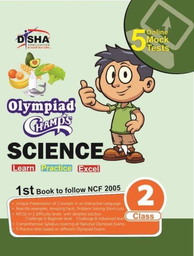 Olympiad Champs Science Class 2 with 5 Online Mock Tests - Buy ...