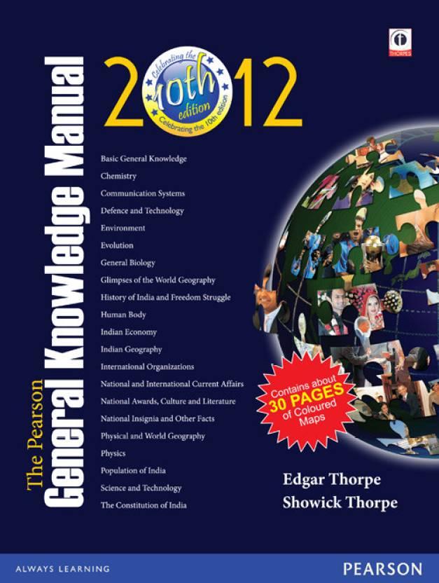 Pearson General Knowledge Manual 2012 Part II PB