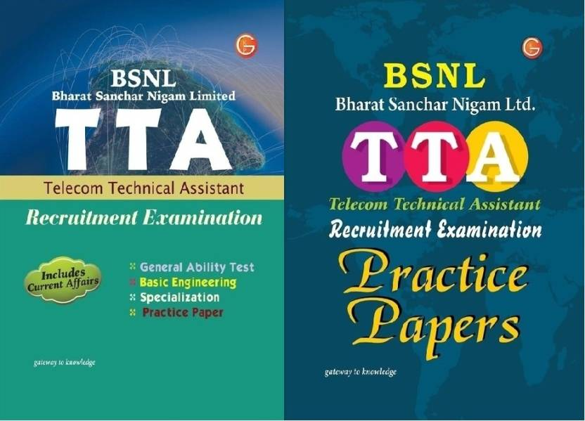 COMBO PACK STUDY GUIDE TTA & Pratice Papers, (BSNL) Recruitment Exam. 1st  Edition