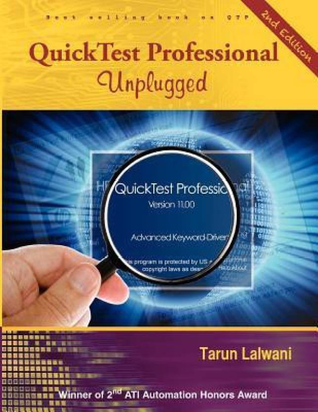 Quicktest Professional Unplugged Covers Version 11.00 2nd Edition