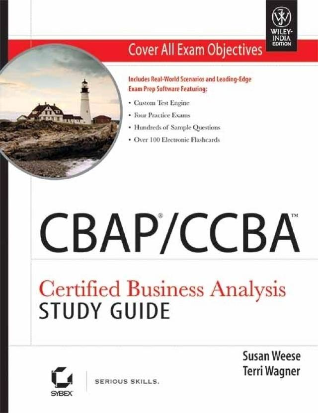 Cbapccba Certified Business Analysis Study Guide Buy Cbapccba