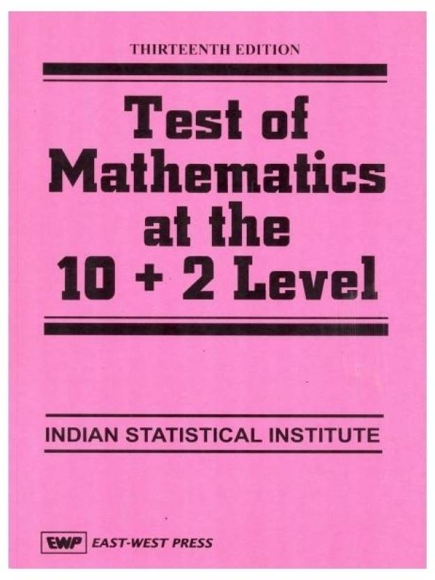 Test of Mathematics at the 10 + 2 Level - Buy Test of Mathematics at ...