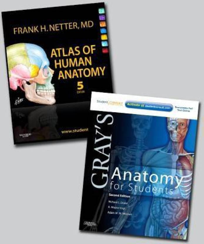 Atlas Of Human Anatomy Package With Grays Anatomy For Students