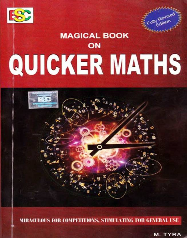 Magical Book On Quicker Maths by M. Tyra, review, buy