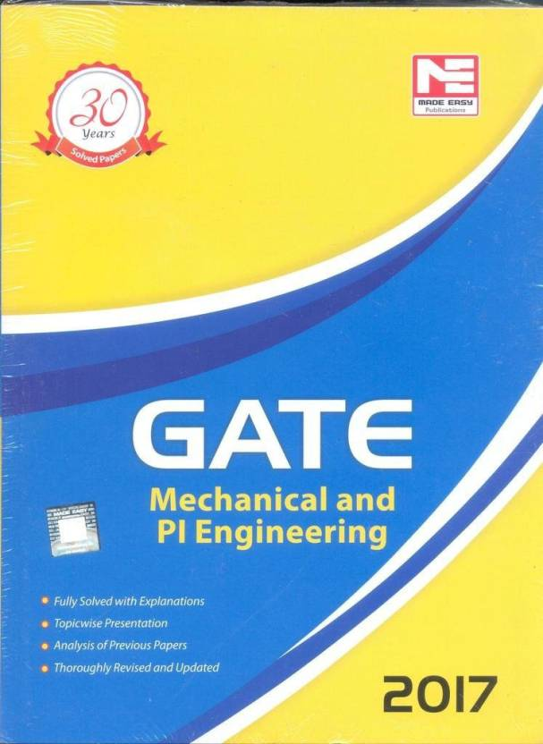 GATE 2017- Mechanical And PI Engineering (English) price comparison at Flipkart, Amazon, Crossword, Uread, Bookadda, Landmark, Homeshop18