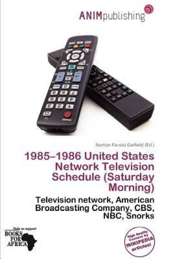 1985-1986 United States Network Television Schedule (Saturday