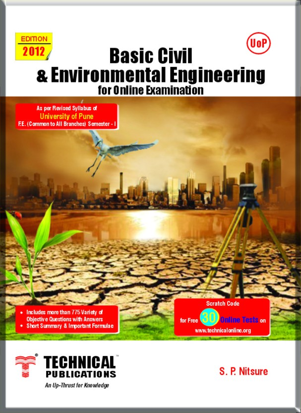 Basic Civil and Environmental Engineering (As Per Pune University Syllabus)