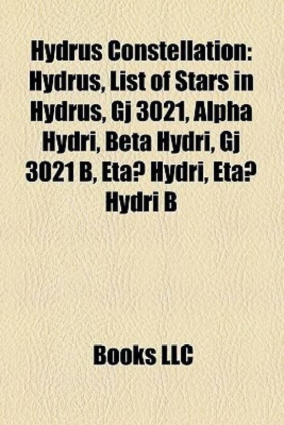 Hydrus Constellation: Hydrus, ...