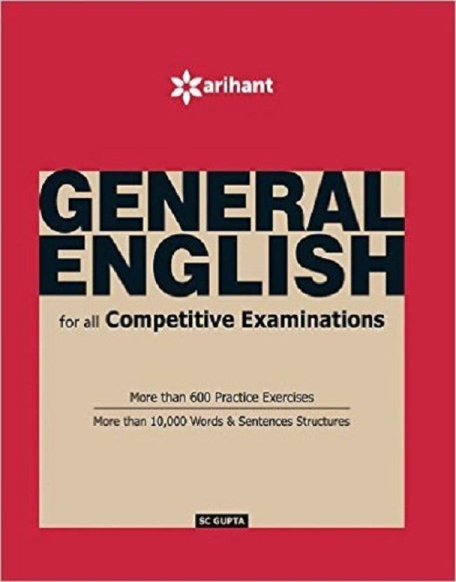 General english for all competitive examinations buy general general english for all competitive examinations fandeluxe Images