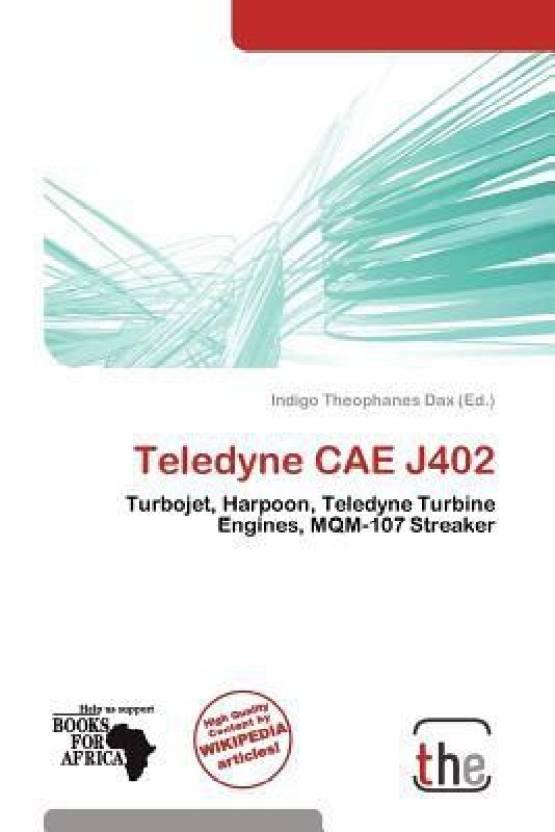 Teledyne Cae J402 - Buy Teledyne Cae J402 by Dax, Indigo