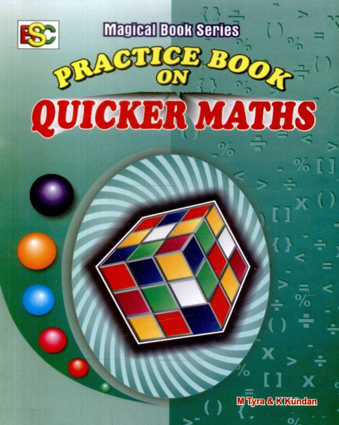 Practice Book On Quicker Maths 2nd Edition - Buy Practice Book On ...