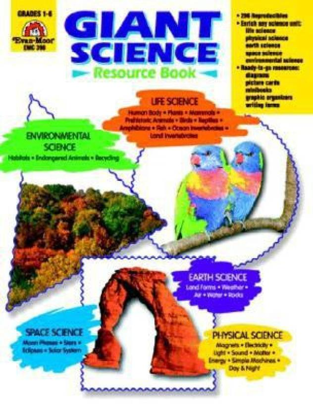 Giant Science Resource Book: Grades 1-6: Buy Giant Science Resource